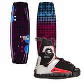 Ronix Krush Wakeboard+ Hyperlite Spin Bindings - Women's 2013