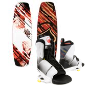 Liquid Force Slab Wakeboard + Transit Wakeboard Bindings