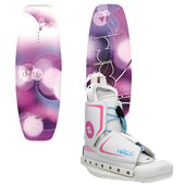 Hyperlite Divine Wakeboard + Allure Bindings - Women's 2013