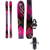 K2 SuperFree Skis + Tyrolia SX 10 Bindings - Women's 2014