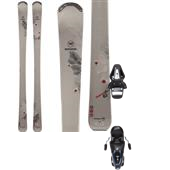 Rossignol Temptation 82 Skis + Tyrolia SX 10 Bindings - Women's 2014