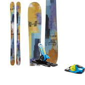 Scott Rebel Skis + Look PX Team Bindings - Youth 2013
