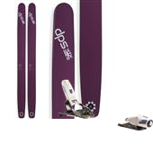DPS Lotus 138 Pure3 Spoon Skis + Look Pivot 18 Ski Bindings 2015