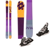 Volkl Pyra Skis - Women's + Marker 11.0 TC EPS Ski Bindings 2015