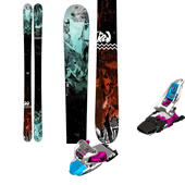 K2 Empress Skis - Women's + Marker Squire Ski Bindings - Women's 2015