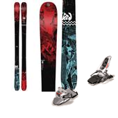 K2 Press Skis 2015 + Marker Squire Ski Bindings 2015