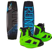 Ronix Vault Wakeboard + District Bindings 2015