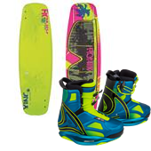 Ronix Quarter 'Til Midnight ATR Wakeboard + Limelight Bindings - Women's 2015