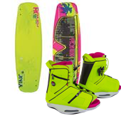Ronix Quarter 'Til Midnight ATR Wakeboard + Halo Bindings - Women's 2015