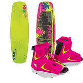 Ronix Quarter 'Til Midnight ATR Wakeboard + Luxe Bindings - Women's 2015