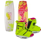 Ronix Krush Wakeboard + Halo Bindings - Women's 2015