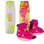 Ronix Krush Wakeboard + Luxe Bindings - Women's 2015