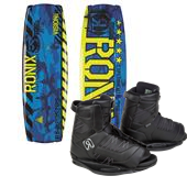Ronix Vision Wakeboard + Divide Bindings - Big Boys' 2015