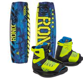 Ronix Vision Wakeboard + Vision Bindings - Big Boys' 2015
