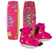 Ronix August Wakeboard + Luxe Bindings - Big Girls' 2015