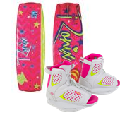 Ronix August Wakeboard + August Bindings - Big Girls' 2015