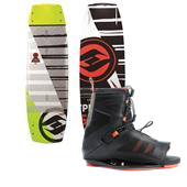 Hyperlite Baseline Wakeboard + Team OT Bindings 2015