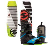 Hyperlite Baseline Wakeboard + Focus Bindings 2015