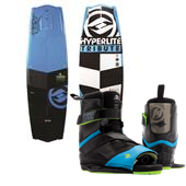 Hyperlite Tribute Wakeboard + Focus Bindings 2015