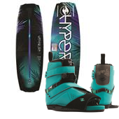 Hyperlite Maiden Wakeboard + Blur Bindings - Women's 2015