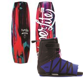 Hyperlite Venice Wakeboard + Syn Bindings - Women's 2015