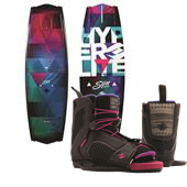 Hyperlite Syn Wakeboard + Jinx Bindings - Women's 2015