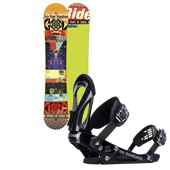 Ride Kink Snowboard  + Ride EX Snowboard Bindings 2014
