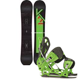 K2 Slayblade Snowboard + Flow NX2-AT Snowboard Bindings 2014