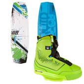 Liquid Force Super Trip Wakeboard + Ultra CT Wakeboard Bindings 2015