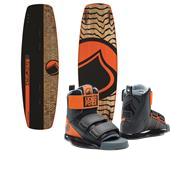 Liquid Force Slab Wakeboard + Domain Wakeboard Bindings 2015