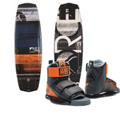 Liquid Force Witness Grind Wakeboard + Domain Wakeboard Bindings 2015