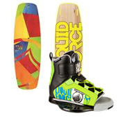 Liquid Force Rant Flex Wakeboard + Fury Wakeboard Bindings - Big Boys' 2015
