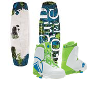 Liquid Force Harley Wakeboard + Harley Wakeboard Bindings 2015