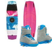 Liquid Force Melissa Wakeboard + Melissa Wakeboard Bindings - Women's 2015