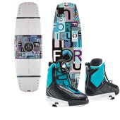 Liquid Force Harlow Wakeboard + Team Wakeboard Bindings - Women's 2015