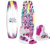 Liquid Force Dream Wakeboard + Dream Wakeboard Bindings - Big Girls' 2015
