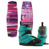 Hyperlite Eden 2.0 Wakeboard + Blur Wakeboard Bindings - Women's 2015