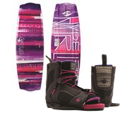 Hyperlite Eden 2.0 Wakeboard + Jinx Wakeboard Bindings - Women's 2015