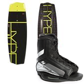 Hyperlite State 2.0 Wakeboard + Remix Jr. Wakeboard Bindings - Big Boys' 2015