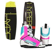 Hyperlite State 2.0 Wakeboard + Remix Jr. Wakeboard Bindings - Big Girls' 2015