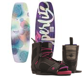 Hyperlite Divine Wakeboard - Big Girls' + Jinx Wakeboard Bindings - Women's 2015