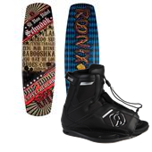 Ronix El Von Videl Schnook Wakeboard w/ Lights 2013 + Ronix Divide Wakeboard Bindings 2014