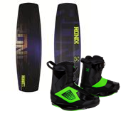 Ronix Code 22 Intelligent Wakeboard 2013 + Ronix One Wakeboard Bindings 2014