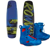 Ronix William Intelligent Wakeboard 2013 + Ronix Frank Wakeboard Bindings 2014