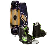 Liquid Force Shane Hybrid Wakeboard 2013 + Liquid Force Index Wakeboard Bindings 2014