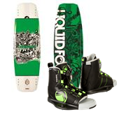 Liquid Force Deluxe Wakeboard + Index Bindings 2014