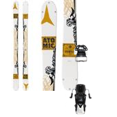 Atomic Infamous Skis + Tyrolia Attack 13 Ski Bindings 2015