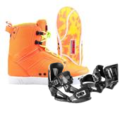 Byerly System Wakeboard Boots + Bindings 2014