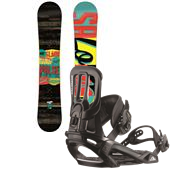Salomon Pulse Snowboard + Pact Bindings 2015