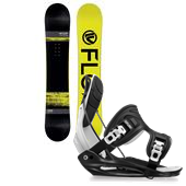 Flow Viper Snowboard + Flite Bindings 2015